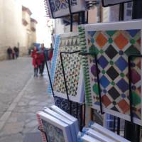アルハンブラを彷彿とさせる幾何学模様の手帳