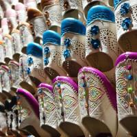 アラブ人街はモロッコ雑貨が並ぶ  3 Caldereria Nueva