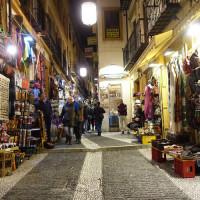 アラブ人街はモロッコ雑貨が並ぶ  4 Caldereria Nueva